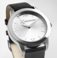 Корпоративный подарок - наручные часы с логотипом